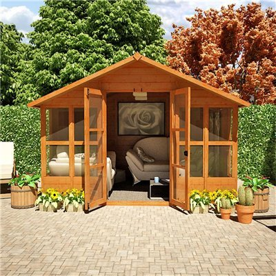 10FT x 10FT HAVANA TONGUE & GROOVE SUMMERHOUSE