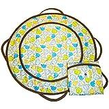 Patemm Round Baby Diaper Changing Pad ~ Elephant Toss Model: (Newborn, Child, Infant)