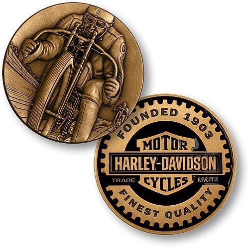 Harley-Davidson Racer Challenge Coin