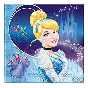 Disney Cinderella Two Ply Paper Napkins, Multi Color