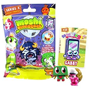 Moshi Monsters Series 3 Moshling Foil Box (Pack of 20)