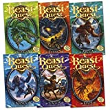 Adam Blade Beast Quest Pack: Series 1, 6 books, RRP £29.94 (Arcta the Mountain Giant, Epos the Flame Bird, Ferno the Fire Dragon, Nanook the Snow Monster, Sepron the Sea Serpent, Tagus the Horse-Man). (Beast Quest)
