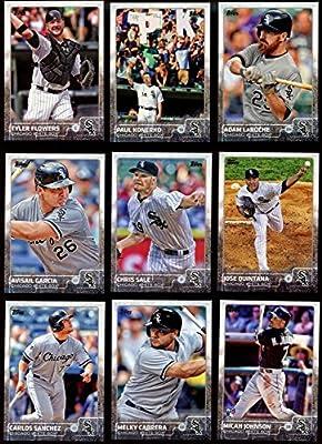 Chicago White Sox 2015 Topps MLB Baseball Regular Issue Complete Mint 21 Card Team Set with Jose Abreu, Paul Konerko, Chris Sale Plus