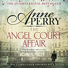 The Angel Court Affair (       UNABRIDGED) by Anne Perry Narrated by Deirdra Whelan