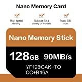 128GB Memory Card for Huawei/Huawei NM Memory Card Support for Huawei Mate20 P30 Mobile Phone (Color: /, Tamaño: 1)