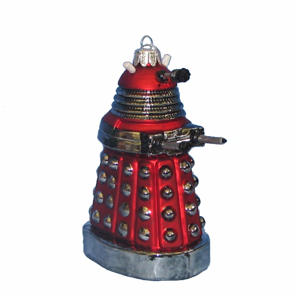 Red Dalek Ornament