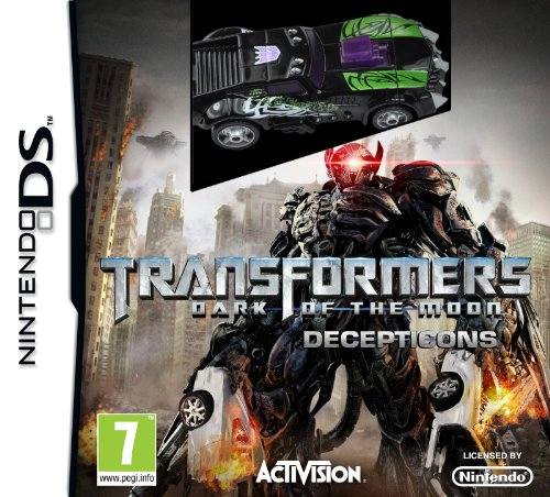 Transformers: Dark of the Moon - Decepticons - with toy (Nintendo DS)