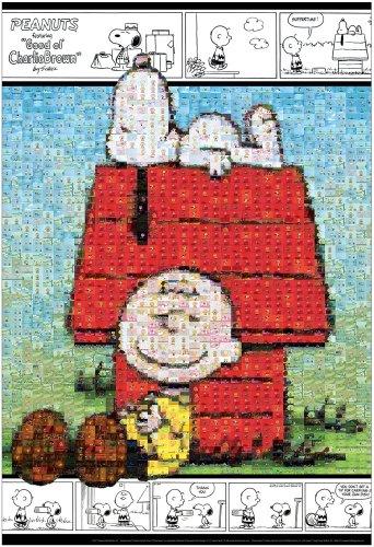 ピーナッツ 1000ピース モザイク スヌーピーとチャーリー・ブラウン 31-367