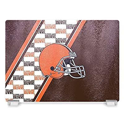 NFL Cleveland Browns Glass Cutting Board