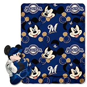 MLB Milwaukee Brewers Disney Mickey Mouse Hugger by Northwest