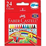 Faber-Castell Wax Crayons 24 Colors