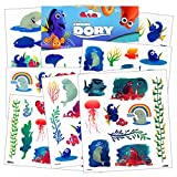 Disney Finding Dory Tattoos - 75 Assorted Temporary Tattoos ~ Dory, Nemo, Marlin, Squirt the Turtle, Bailey, and more!