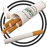 Premium Tobacco-Free Hempettes (15 Total Fresh Prerolled Herbal Smokes) (Color: White, Tamaño: Standard)