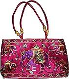 Czds India Women's Pink Handbag (BAG-32)
