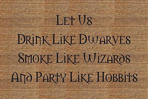 Hobbits Door Mat