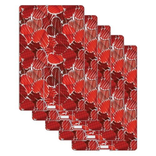 Design worlds 16GB Set of 10 Red Hearts Credit Card Shape pendrive  available at amazon for Rs.4299