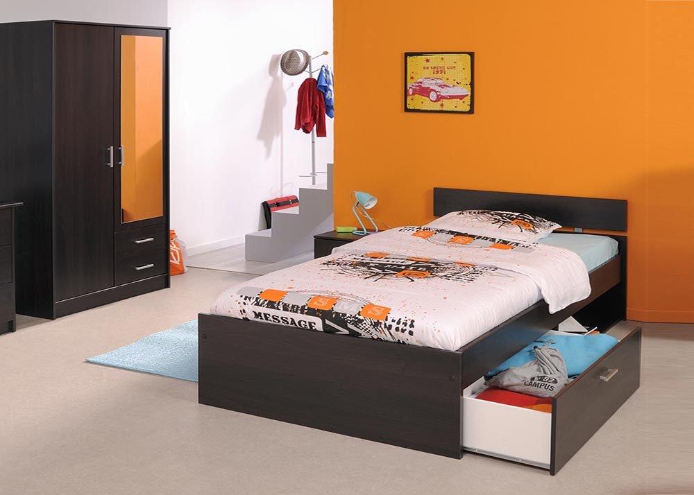 Jumbo-Möbel Kinderzimmer-Set INFINITY in Kaffee 3 tlg.