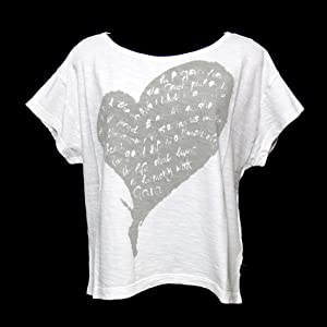 Vivienne Westwood Anglomania ワイド シルエットハート Tシャツ (M)