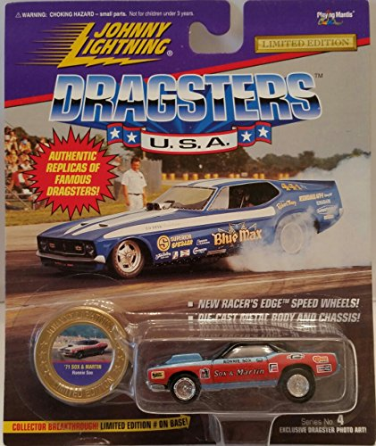 "Johnny Lightning Limited Edition ""Dragsters USA"" - Series 4 - Ronnie Sox's '71 Sox & Martin"