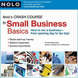 Nolo's Crash Course in Small Business Basics Audiobook