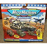 Micro Machines Clash Defense Crew #3 Military Collection