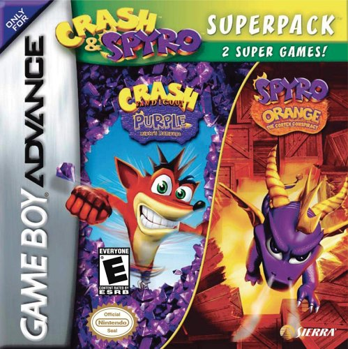 Crash and Spyro Super Pack (Gameboy Advance Crash Bandicoot compare prices)
