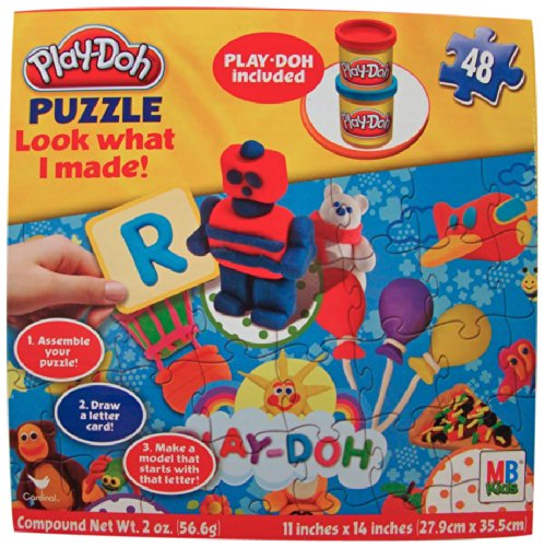 Play-Doh Puzzle Look What I Made!