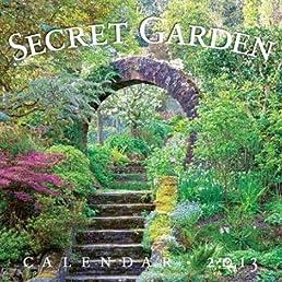 Secret Garden 2013 Wall Calendar