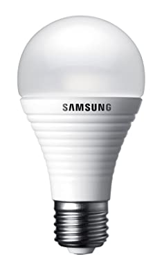 Samsung SI-I8 W041140EU - Bombilla LED, 3,6 W equivalente a 25 W, E27, 140°, 220-240 V, luz blanca cálida, intensidad no regulable [Clase de eficiencia energética A+]