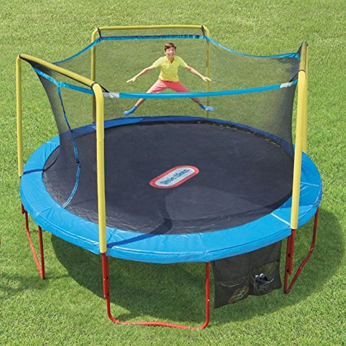 Little-Tikes-14-Feet-Huge-Bounce-Trampoline-with-Enclosure