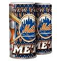 MLB New York Mets Refillable Salt & Pepper Shaker, Blue