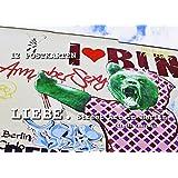 Liebe. Street Art in Berlin   Postkarten-Set
