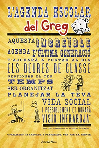 L' Agenda Escolar Del Greg (Diari del Greg)