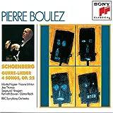 Schoenberg - Gurre-Leider ~ 4 Songs, Op. 22 / Napier, Minton, Nimsgern, J. Thomas, BBC SO, Boulez
