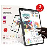 Paper-Like iPad Pro 12.9 Screen Protector (2018), BERSEM Paperlike iPad pro 12.9 Matte PET Film for Drawing Anti-Glare and Paper Texture iPad Pro 12.9 Screen Protector (2 Pack) Easy Installation Kit (Color: 12.9 inch 3rd Gen, Tamaño: 12.9 inch 3rd Gen)