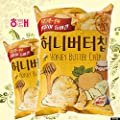 HaiTai Honey Butter Chip 60g * 8ea / Korean Potato Chips (8 bags) by HaiTai