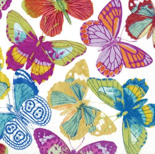 Caspari Butterflies Paper Lunch Napkins 20 Count  sc 1 st  WordPress.com & BUTTERFLY PAPER NAPKINS - BUTTERFLY PAPER | Butterfly Paper Napkins ...