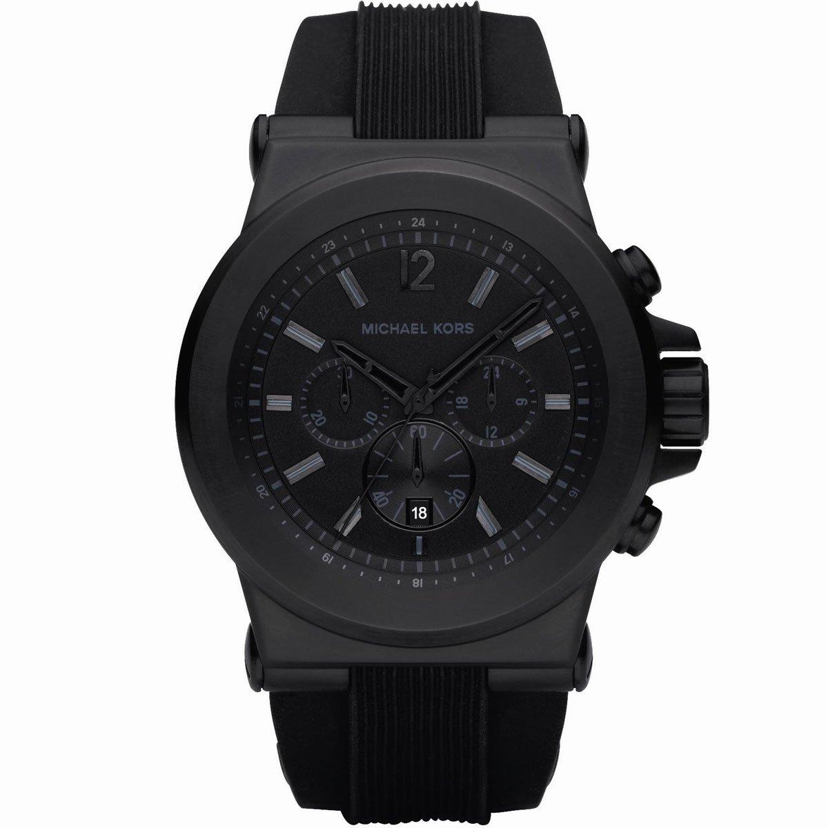michael kors mens matte black watch juratek michael kors mens matte black watch
