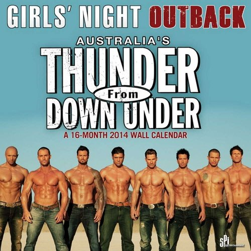 Thunder from Down Under 2014 Calendar