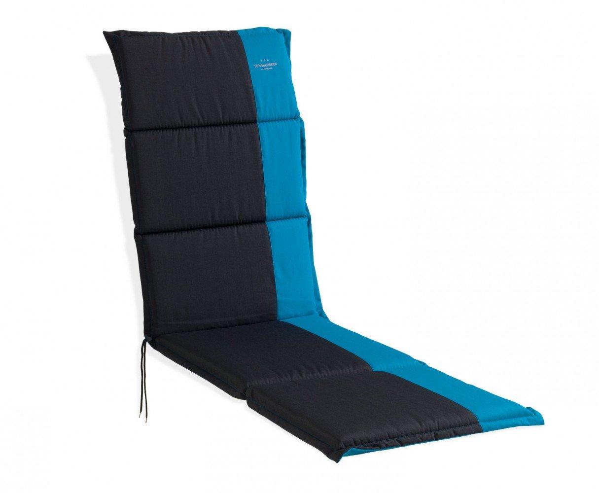 Sitzkissen Sitzpolster Relaxauflage schwarz - türkis Colt 3