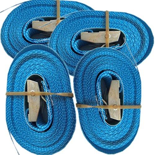 4-Spanngurte-mit-Klemmschloss-4m-250-Kg-25mm-breite-blau