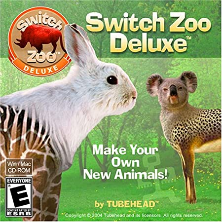 Switch Zoo Deluxe: Make New Animals! (Jewel Case) Free Shipping!