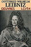 Leibniz - Oeuvres LCI/54