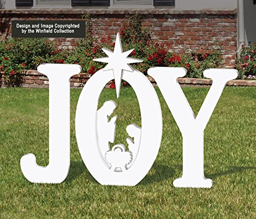 Outdoor Joy Nativity Display Artificial Christmas Tree Shop