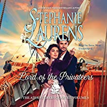 Lord of the Privateers Audiobook by Stephanie Laurens Narrated by Steve West