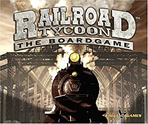 EAGLE GAMES Railroad Tycoon the board game