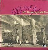 Bono & Edge U2 Signed The Unforgettable Fire Album Cover W/Vinyl BAS #C19819