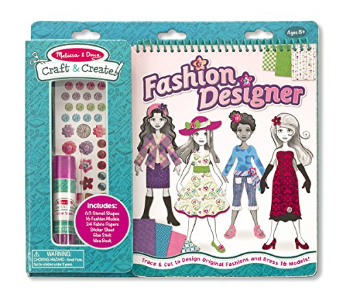 Melissa & Doug Craft and Create Fashion Designer Kit - 1