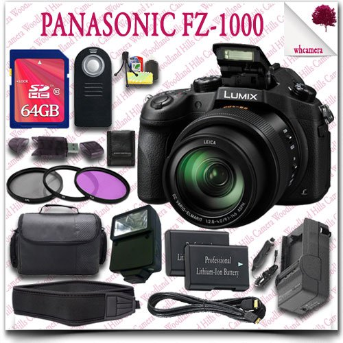 Panasonic Lumix DMC-FZ1000 Digital Camera Big Discount