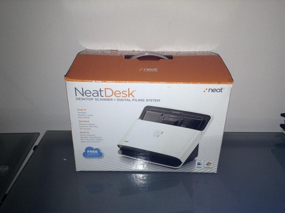 Brand New Neatdesk for Pc and Mac Sheetfed Scanner